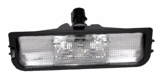 Luz De Placa Fox Gol Voyage Saveiro G4 G5 Original Vw 5U0943021