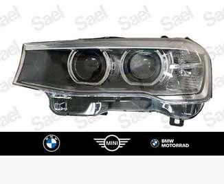 Farol de dupla luz de xénon direito para BMW X3 e X4