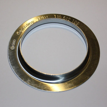 Calço Metal Mola Traseiro Inferior Vw Golf Polo Fox 1J0512109