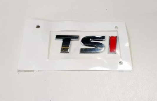 Emblema Tsi Jetta Polo Virtus Tampa Traseira - Original Vw 1K9853675BGQF