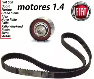KIT CORREIA + TENSOR DO MOTOR FIRE 1.4 E 1.0