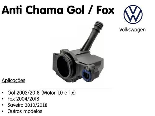Anti Chama Gol / Fox / Saveiro Original Vw
