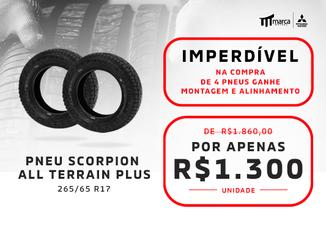 Pneu Scorpion Aro17 265/65