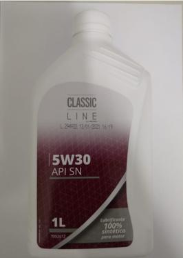 ÓLEO CLASSIC LINE 5W30 100% SINTETICO