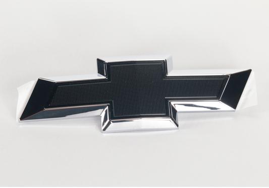 galeria Gravata Chevrolet Preta (Black Bow Tie) Traseira para Joy e Onix