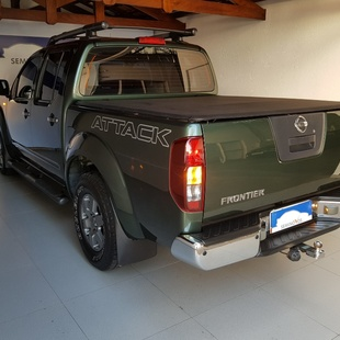 Nissan Frontier 2.5 Sv Attack 4X4 Cd Turbo Eletronic Diesel 4P Manu