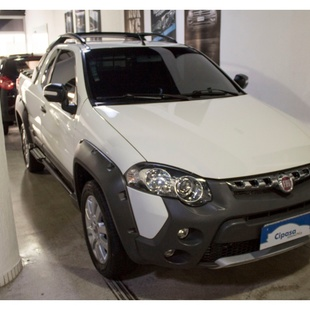 Fiat Strada 1.8 Mpi Adventure Ce 16V Flex 2P Manual