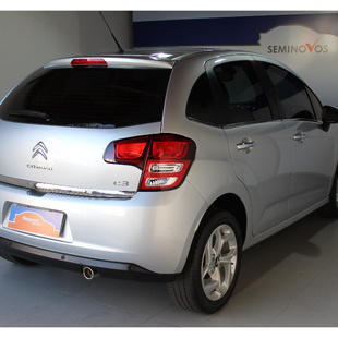 Citroën C3 1.6 Exclusive 16V Flex 4P Automatico