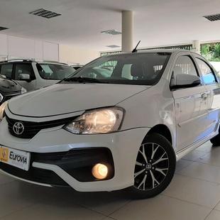Toyota Etios Sedan Platinum 1.5 16V At Fle