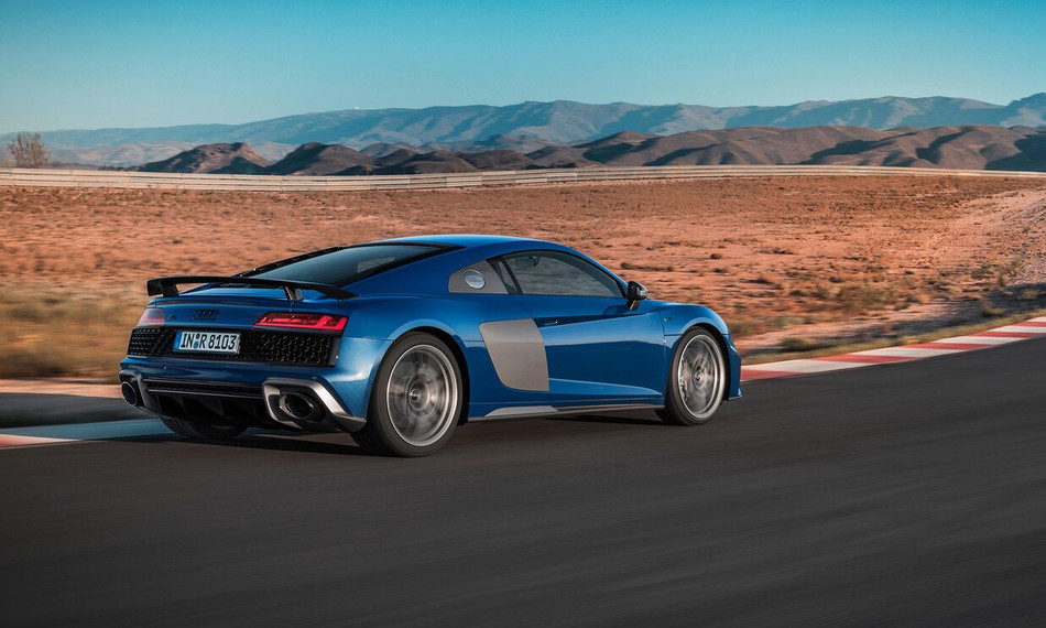R8 Coupé 2021 - é na Audi Center Rio Preto