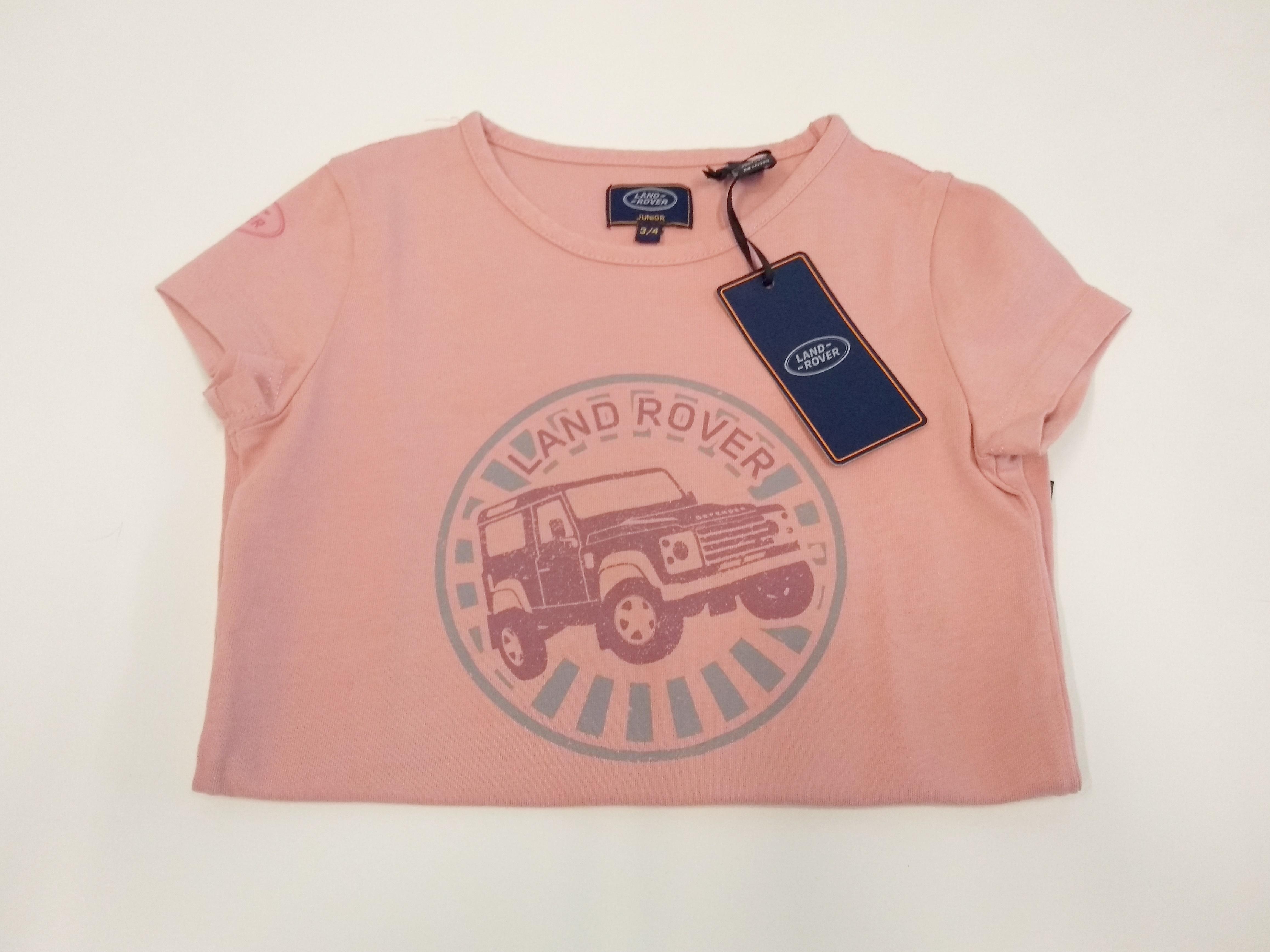 galeria Camiseta Infantil T-shirt Land Rover -