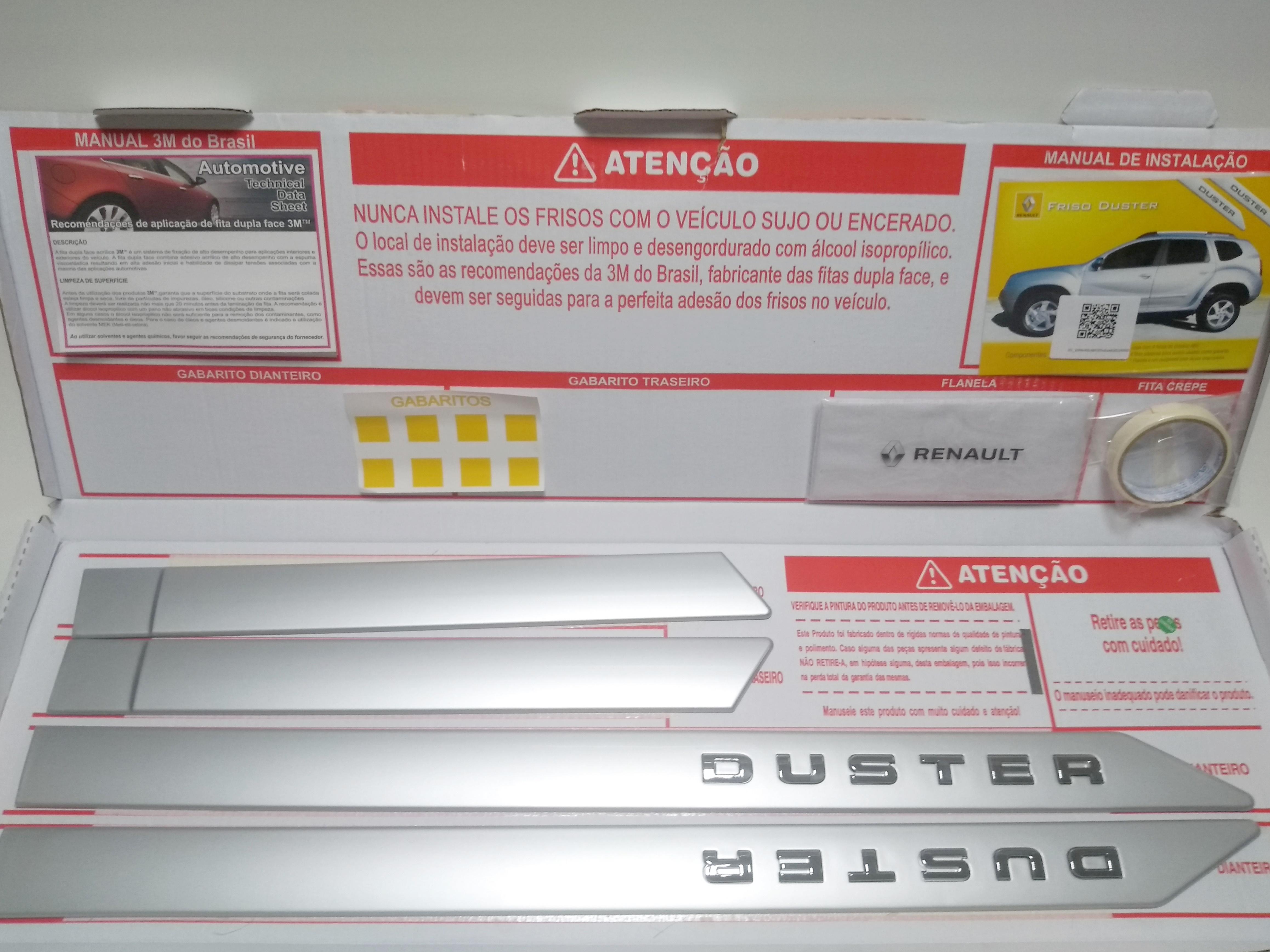 galeria Conjunto Friso Lateral Duster