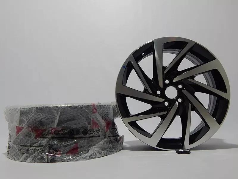 galeria Roda Novo Polo Virtus Aro 17 Diamantada Original Vw - 6EC601025FZZ