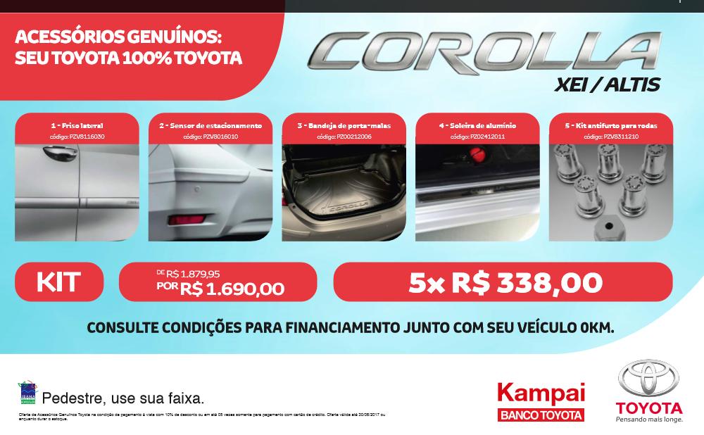 galeria COMBO COROLLA XEI / ALTIS