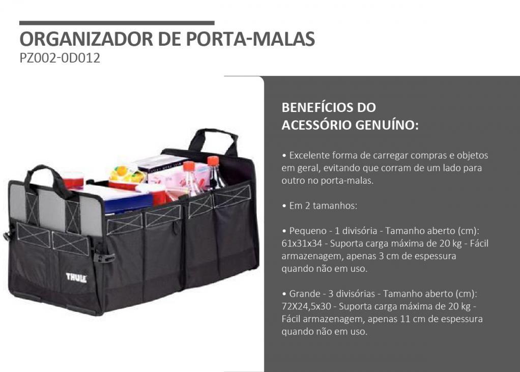 galeria ORGANIZADOR DE PORTA MALAS