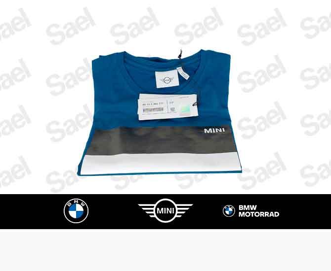 galeria Camisa MINI Azul