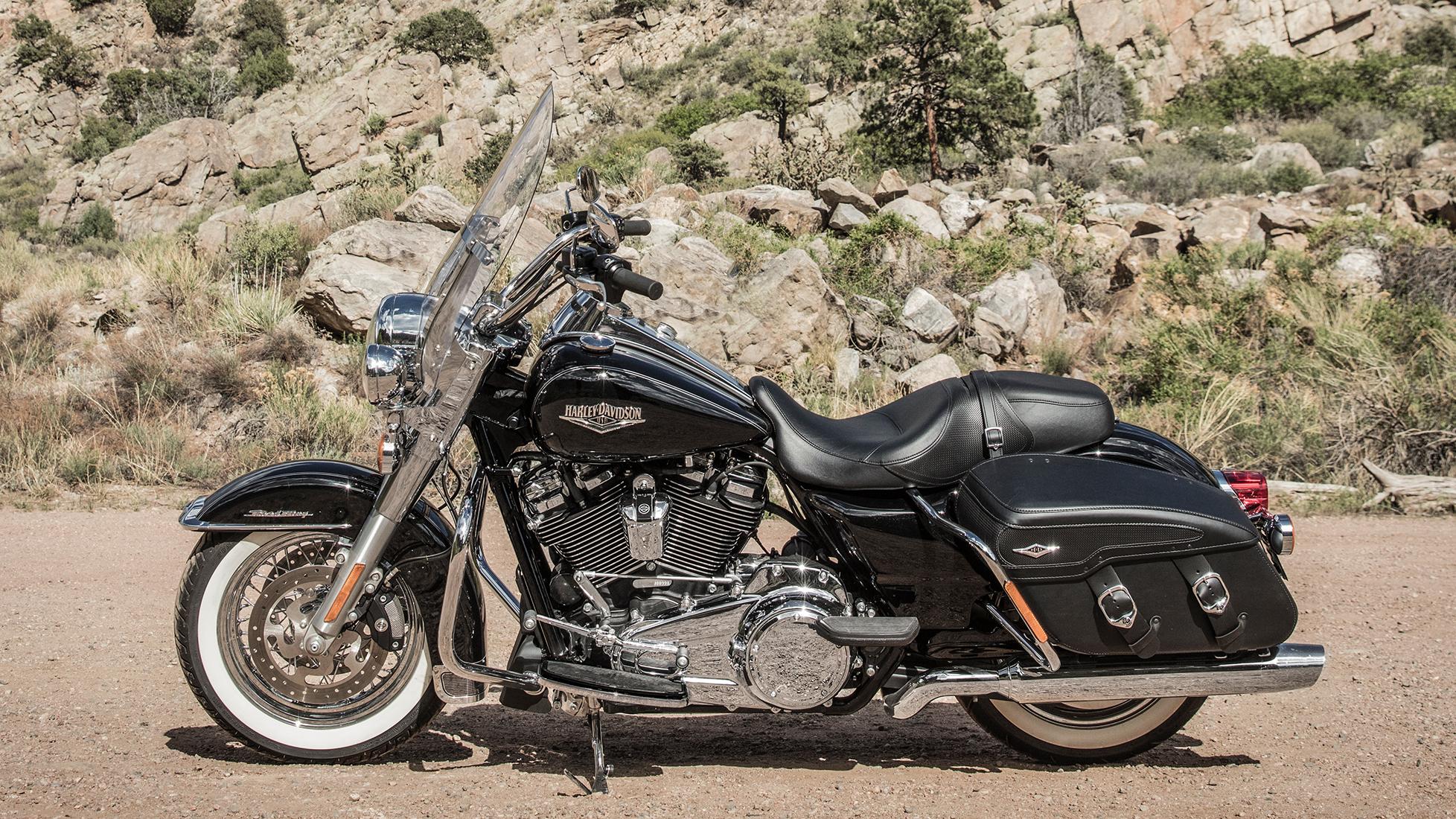 Road King Classic 2019 E Na Rota 67 Harley Davidson