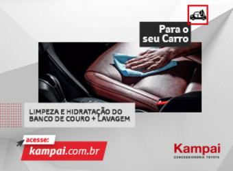 LIMPEZA E HIDRATAÇÃO DO BANCO DE COURO