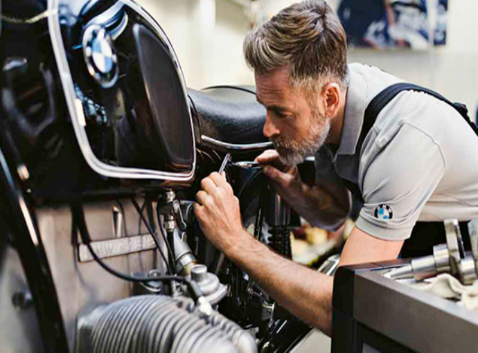 Revisão da sua BMW Motorrad