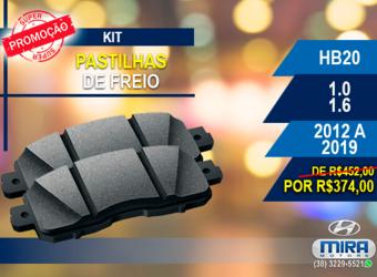 Kit Pastilha HB20