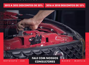 2012 a 2015 DESCONTOS DE 20%