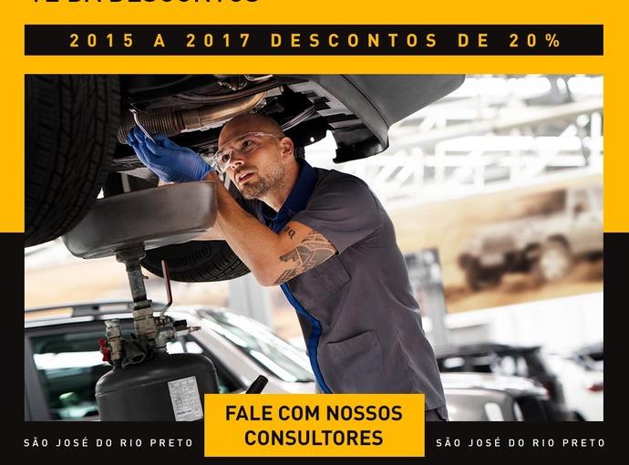 2015 A 2017 DESCONTOS DE 20%