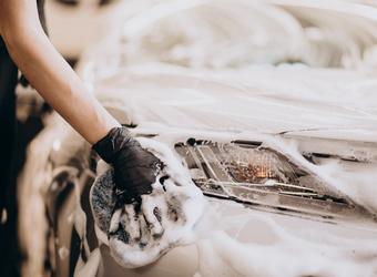 Lavagem do veículo