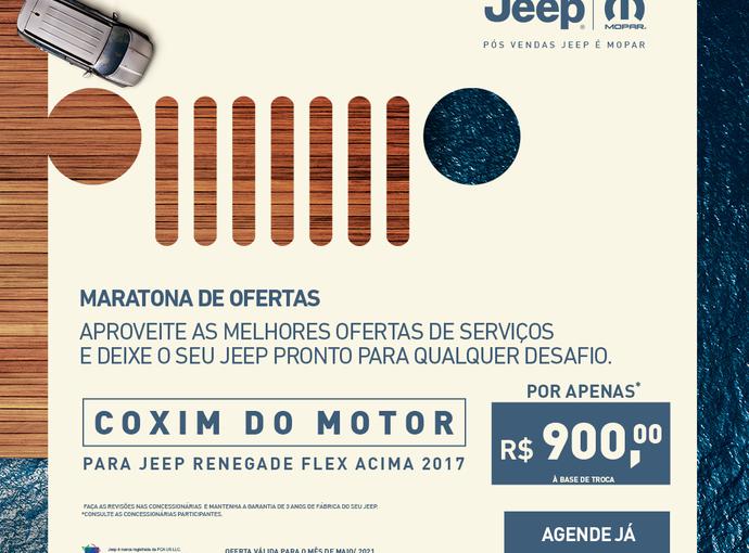 COXIM DO MOTOR PARA RENEGADE FLEX