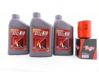 Troca de óleo e Filtro de Óleo