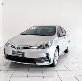 Toyota COROLLA COROLLA XEI A/T 2.0 FFV 17/18