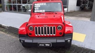 Jeep WRANGLER 3.6 UNLIMITED SPORT 4X4 V6 GASOLINA 4P AUTOMATICO