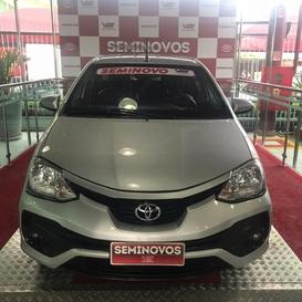 Toyota ETIOS 1.5 XS SEDAN 16V FLEX 4P AUTOMATICO