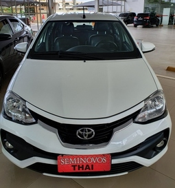 Toyota ETIOS 1.5 PLATINUM 16V FLEX 4P AUTOMATICO