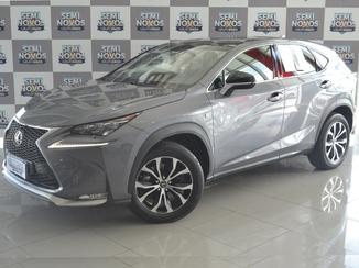 Lexus NX 200T 2.0 F-SPORT 4X4 16V TURBO GASOLINA 4P AUTOMÁTICO