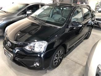 Toyota ETIOS 1.5 PLATINUM SEDAN 16V FLEX 4P AUTOMÁTICO