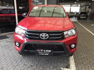 Toyota HILUX 2.8 SR CHALLENGE 4X4 CD 16V DIESEL 4P AUTOMÁTICO