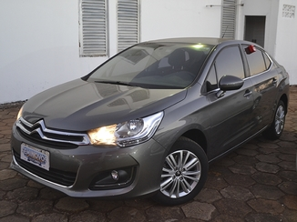 Citroën C4 LOUNGE 1.6 ORIGINE 16V TURBO FLEX 4P AUTOMÁTICO