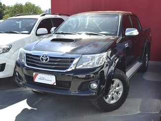Toyota HILUX 3.0 SRV TOP 4X4 CD 16V TURBO INTERCOOLER DIESEL 4P AUTOMÁTICO