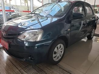 Toyota ETIOS 1.3 X 16V FLEX 4P AUTOMATICO