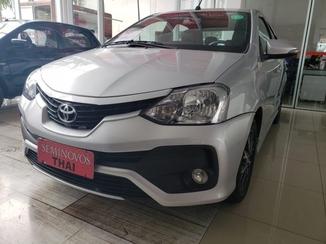 Toyota ETIOS 1.5 PLATINUM SEDAN 16V FLEX 4P AUTOMATICO