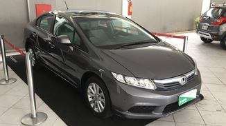 Honda Civic Civic LXS 1.8 i-VTEC (Aut) (Flex)