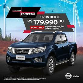Nissan FRONTIER 2.3 16V Turbo LE CD 4X4