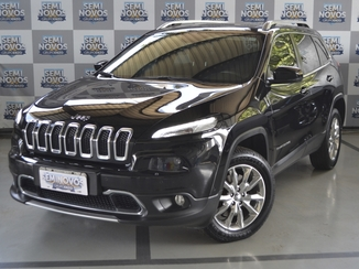 Jeep CHEROKEE 3.7 LIMITED 4X4 V6 12V GASOLINA 4P AUTOMÁTICO