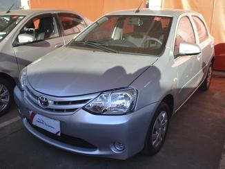 Toyota ETIOS 1.3 X 16V FLEX 4P AUTOMÁTICO