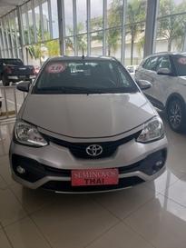 Toyota ETIOS 1.5 XLS 16V FLEX 4P AUTOMATICO