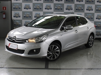 Citroën C4 LOUNGE 1.6 EXCLUSIVE 16V TURBO FLEX 4P AUTOMÁTICO