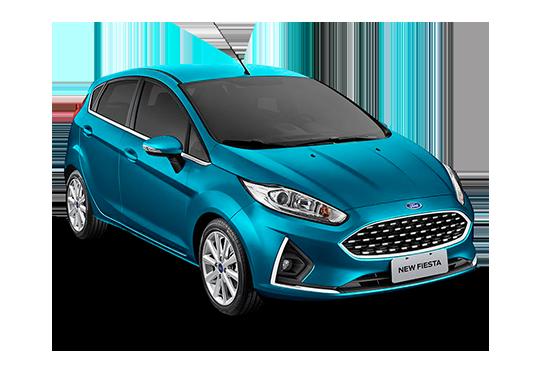 New Fiesta Hatch Titanium 1.6 AT