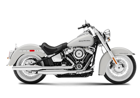 Harley Davidson Deluxe 2020 Stone Washed White Pearl