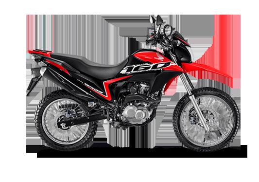 NXR 160 Bros ESDD 2020 Vermelho