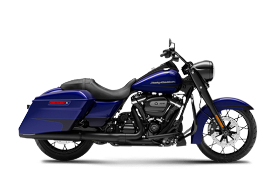 Road King Special (2020) Zephyr Blue/Black Sunglo